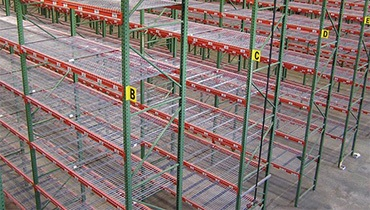 warehouse storage shelving